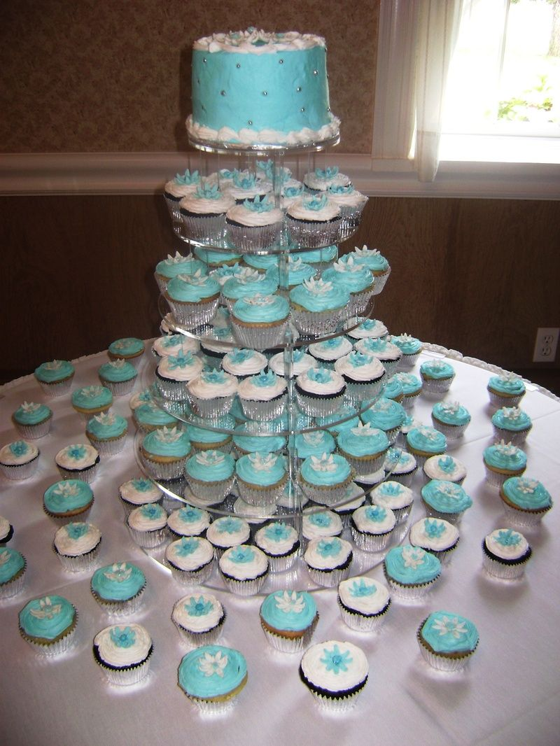 White Wedding | These are all done in buttercream with fondant ...