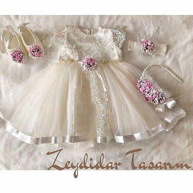 Vestidos | menina bebe | Pinterest | Vestiditos, Bautizo y Vestidos ...