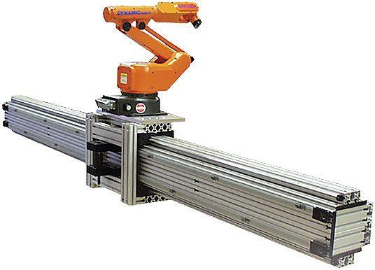 Designing Linear Motion Tracks For Robotic Positioning
