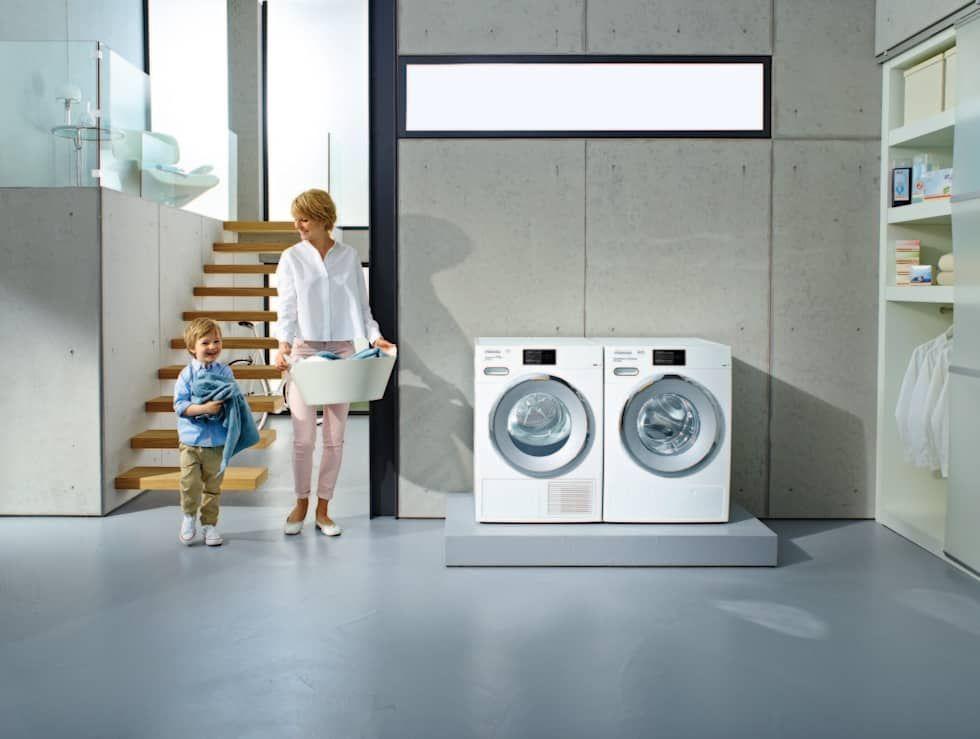 Waschmaschine W1 Und Trockner T1 Von Miele Cie Kg Waschmaschine