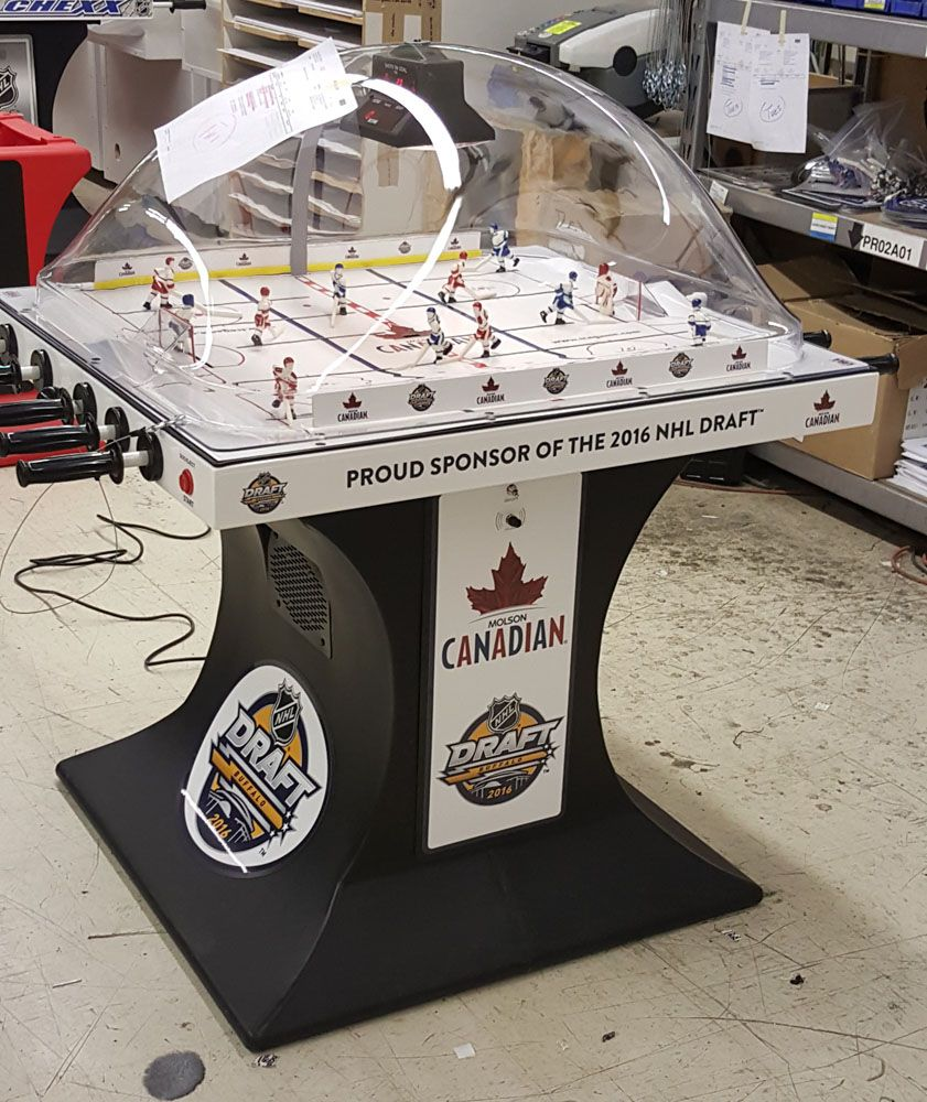 Molson Canadian Nhl Draft 2016 Buffalo Ny Bubble Hockey Tournament
