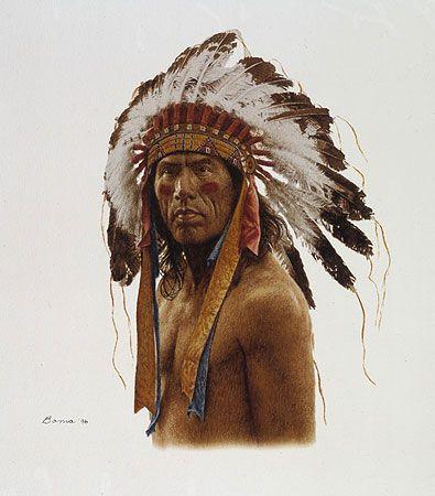 The Warrior - James Bama