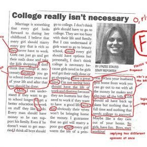 Sign of College You Don't Want-- - Pixdaus