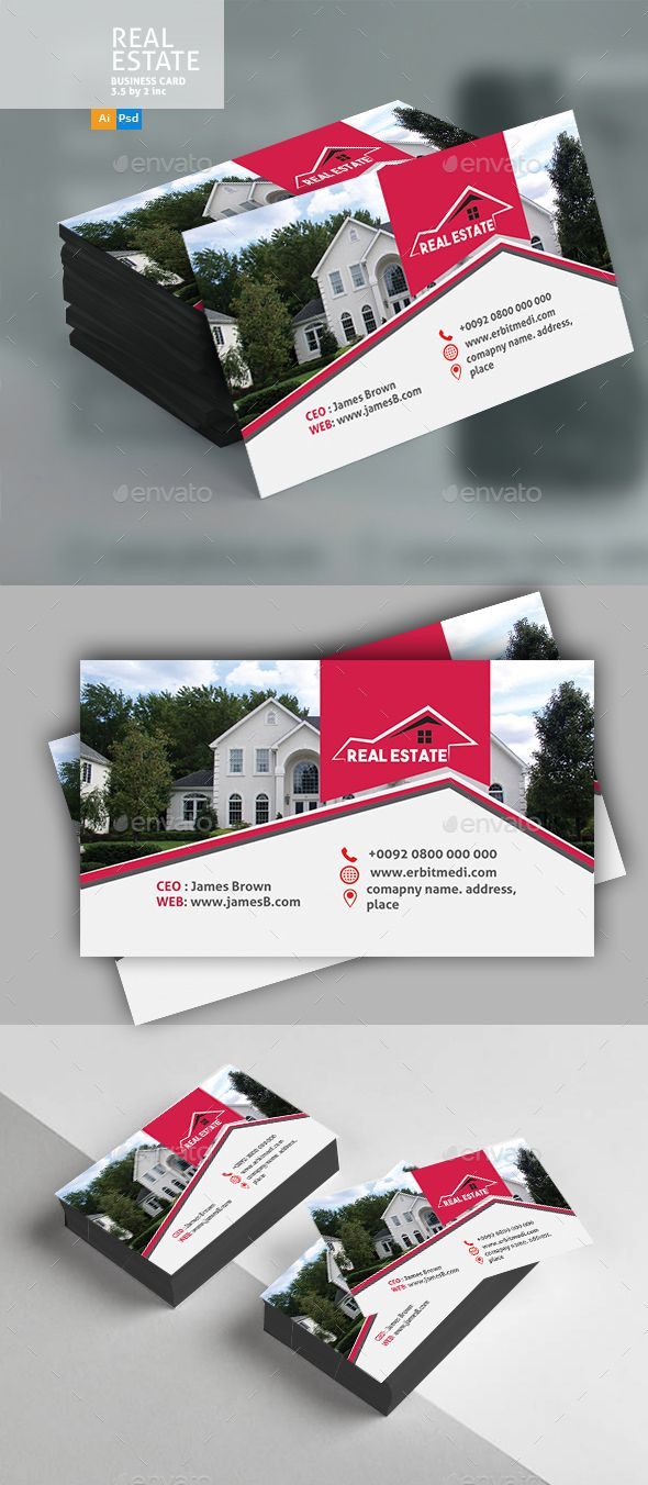 Real estate business card real estate business print templates buy real estate business card by designcrew on graphicriver real estate business card fully editable in illustrator and photoshop source ai eps colourmoves