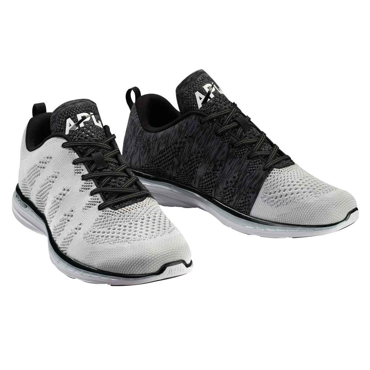 apl women's black sneakers