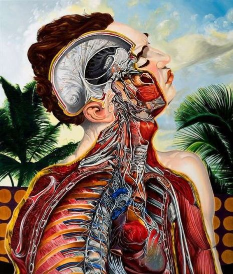 Surreal depictions of the human body by the 'Hannibal Lecter' of the art  world | Dangerous Minds | Modern surrealism, Surrealism painting, Art