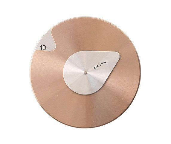 Zegar Scienny Drop By Karlsson 2 Kolory 4882536919 Oficjalne Archiwum Allegro Clock Clock Design Cool Clocks