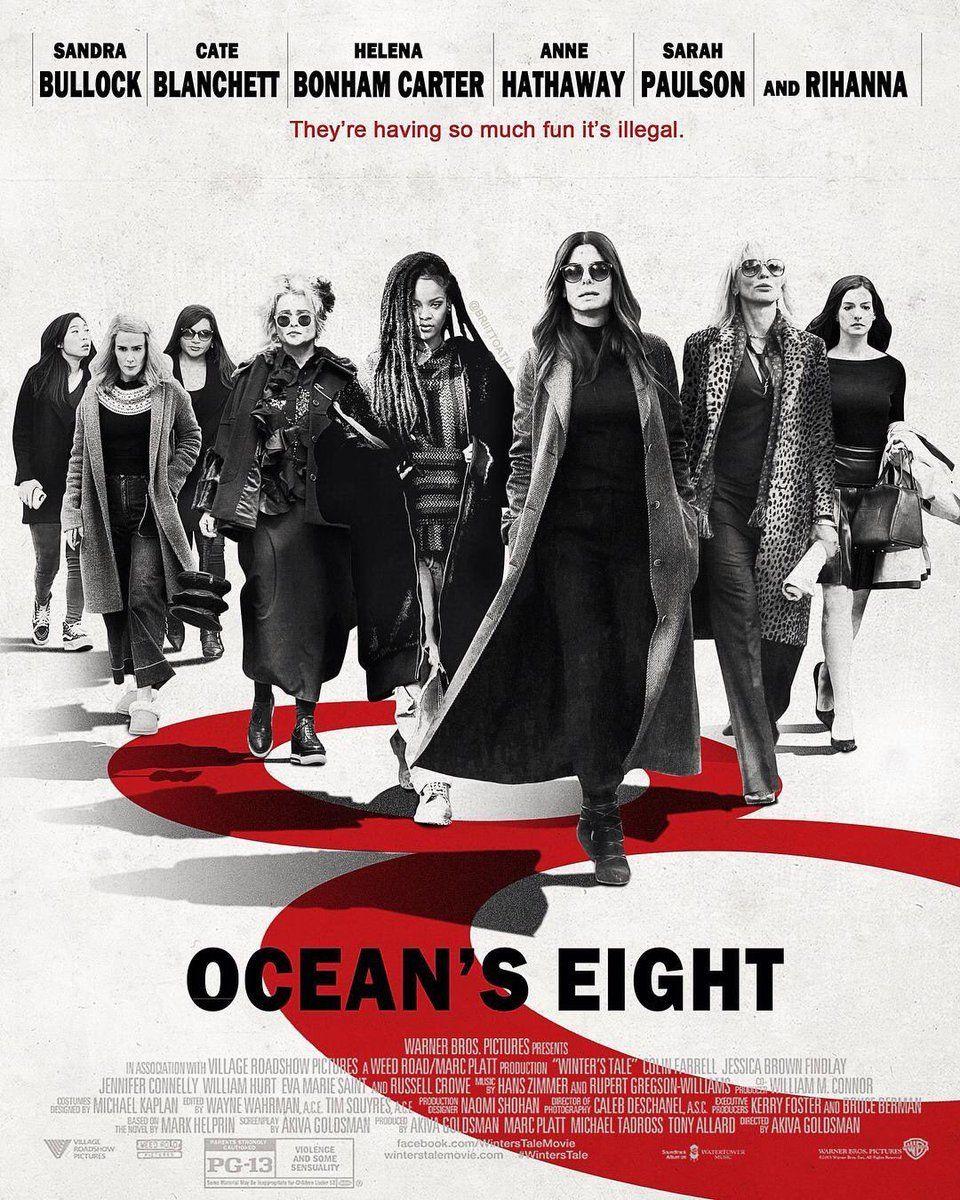 ocean 39 s eight movies i love ocean 8 movie ocean 39 s. Black Bedroom Furniture Sets. Home Design Ideas