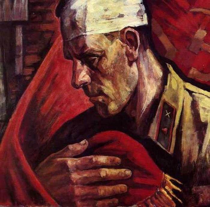 П.Дурчина. «Верность знамени»
