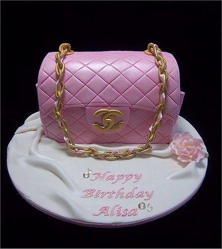 Chanel Cake Designs: Chanel Designer Handbag Bag Purse Custom Pastry Cakes For