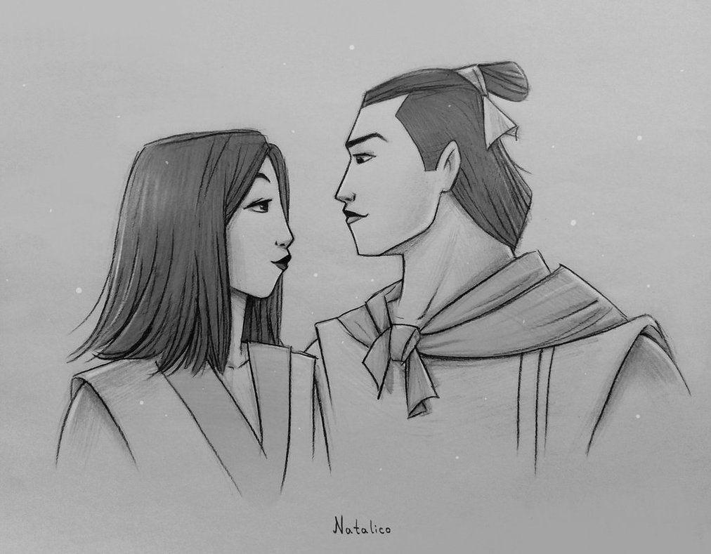 Mulan and Shang by natalico.deviantart.com on @DeviantArt