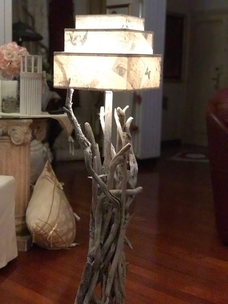 Lampade vintag fatte a mano stile mare