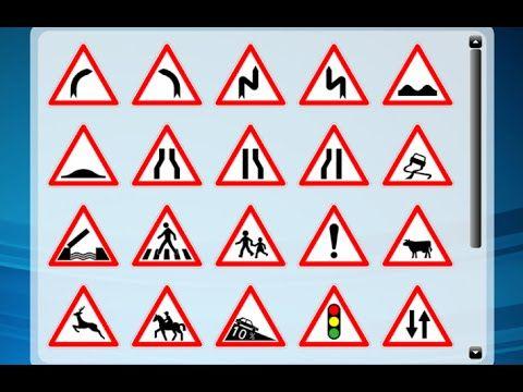 code de la route version fran aise panneaux signaux de danger panneau cours pinterest. Black Bedroom Furniture Sets. Home Design Ideas