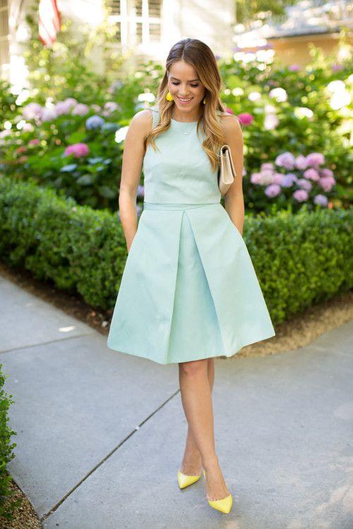 Summer Wedding Guest Attire Wedding Guest Dress Summer Guest Attire Green Wedding Dresses