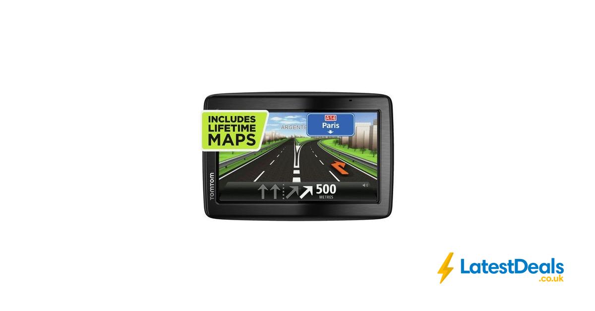 TomTom via 135 5 Inch Sat Nav Full Europe Lifetime Maps, £79.99 at