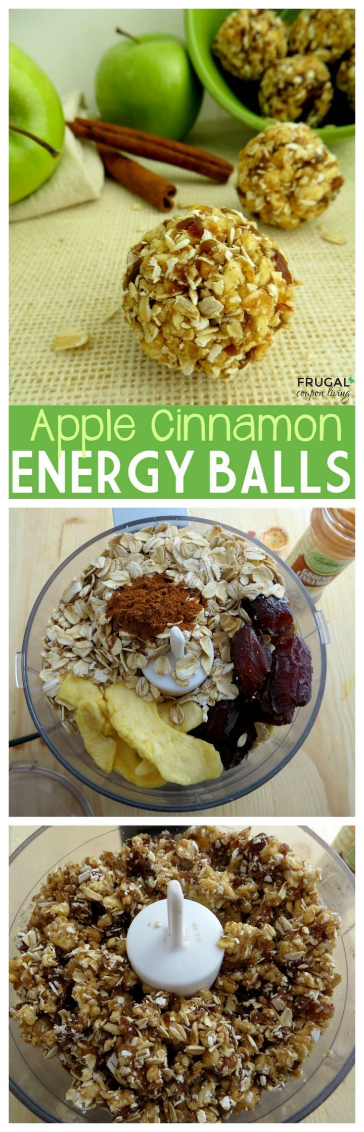 Apple Cinnamon Energy Bites Recipe Food Healthy