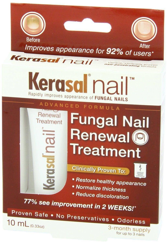 Kerasal Nail Fungal Nail Renewal Treatment Value Size Pack40-ml ...