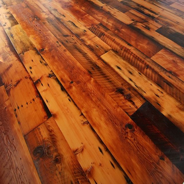 Waterlox Really Brings Out The Character In These Reclaimed Wood Floors Http Www Waterlox Com Reclaimed Wood Floors Flooring Home Remodeling Diy