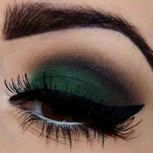 Makeup Makeup ideas Pinterest Beautiful, Ojos y Verde esmeralda