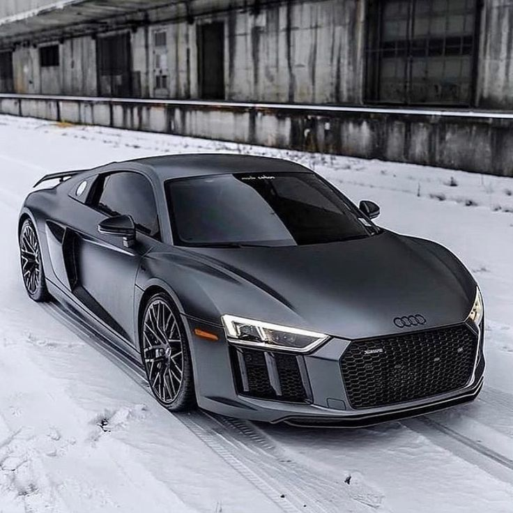 Photo of Follow Luxe_Gray on Instagram! Luxurious Lifestyle Cars Audi R8 Gray Exotic Car