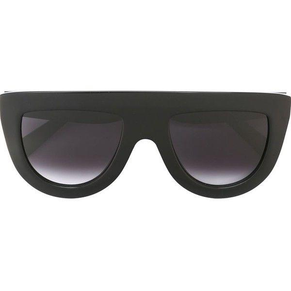 visor frame sunglasses - Blue Celine E15GE