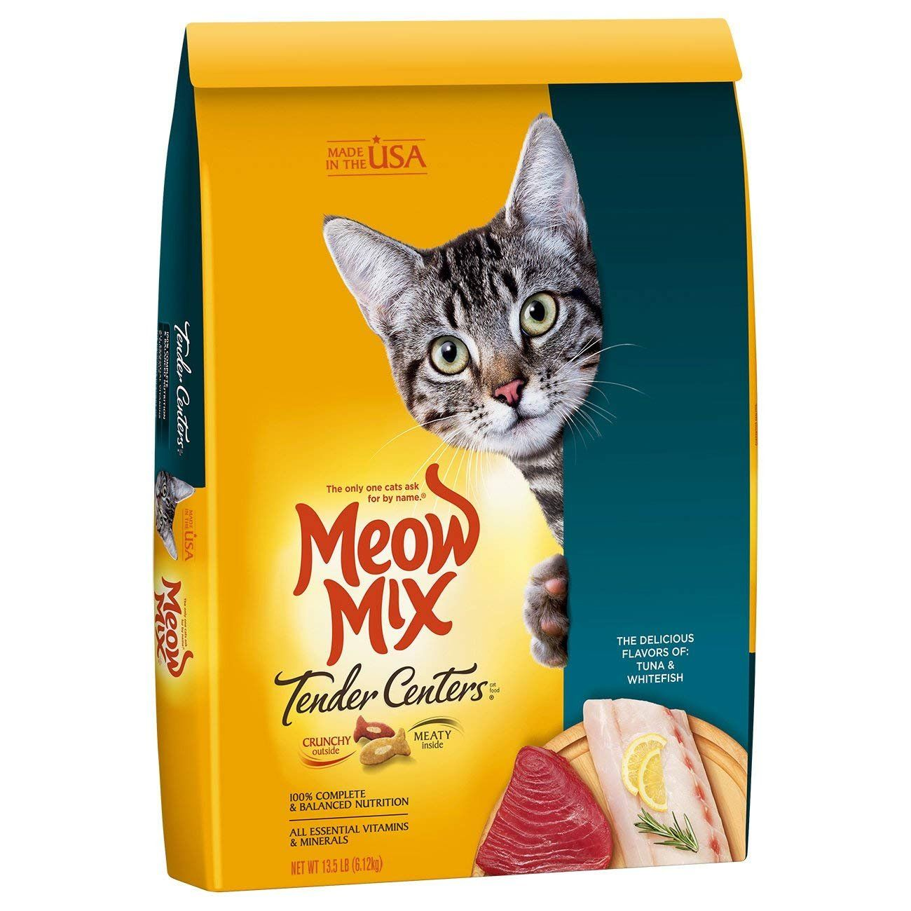 Meow Mix Dry Cat Food Multi Flavor Tuna And Whitefish 13 5lb Visit The Image Link More Details This Is A Dry Cat Food Cat Food Reviews Cat Food
