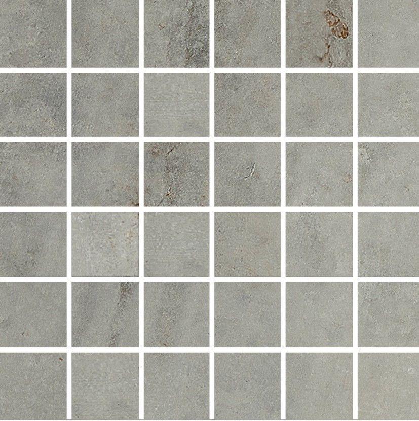 Aparici #Zone Grey #Mosaico 5x5 29,75x29,75 cm Feinsteinzeug - badezimmer zonen
