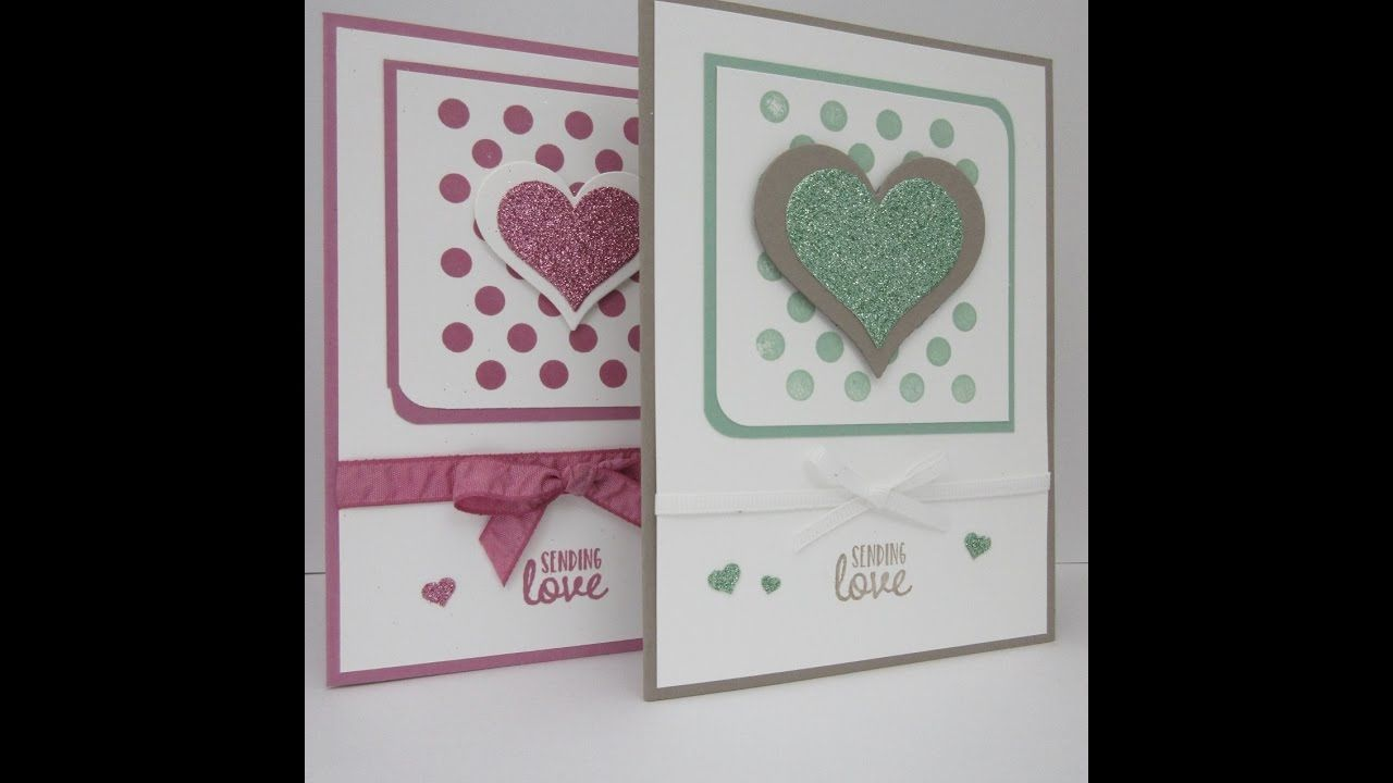 Stampin' Sacha - Stampin' Up! - Annual Catalogue 2016-2017 - Spring/Summer Catalogue 2017 - Sale-A-Bration 2017 - Homemade For You - Sweet & Sassy Framelits - Sealed With Love - Glimmer Paper Pack - Sweet Sugarplum - Love - #stampin_sacha - #stampinup - #love