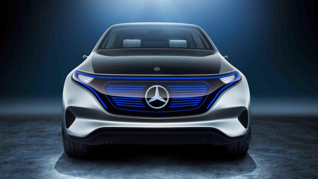 Concept Eq With Zero Emissions Into The Future Mercedes Benz