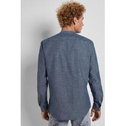 Photo of Tom Tailor Denim men's shirt in denim look, blue, patterned, size M Tom TailorTom Tailor