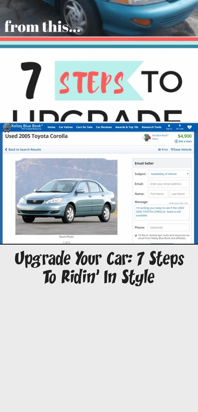 Upgrade Your Car 7 Steps To Ridin In Style In 2020 With Images