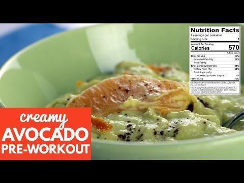 Creamy Avocado Pre-Workout (No Whey Pre-Workout)