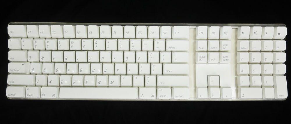 14c92141fd9 Authentic Apple Wireless Keyboard A1016 Bluetooth Mac Numeric Keypad  M9270LL/A #Apple