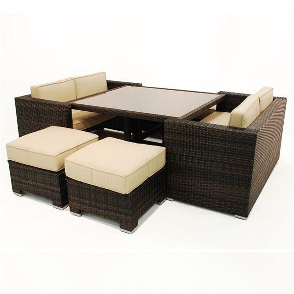 Maze Rattan Sofa Cube Set Garden Furniture | MoCasa Gardening/Patio ...