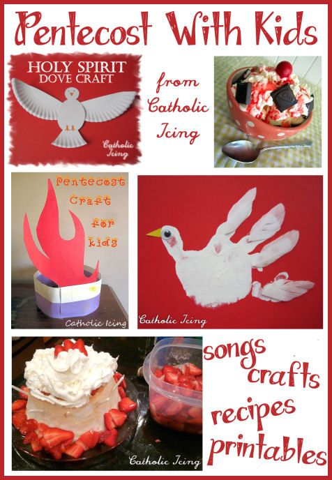 Pentecost Resources For Kids: Free Notebooking Page, Crafts