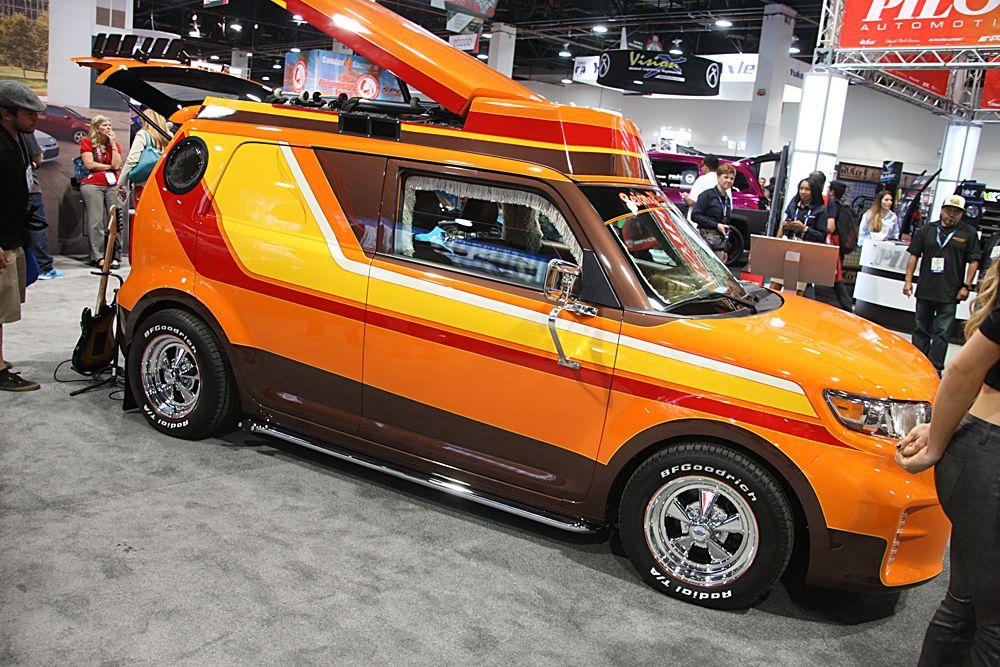 Scion S Custom Van Scion Xb From Sema 2014 Scion Xb Custom Vans Scion