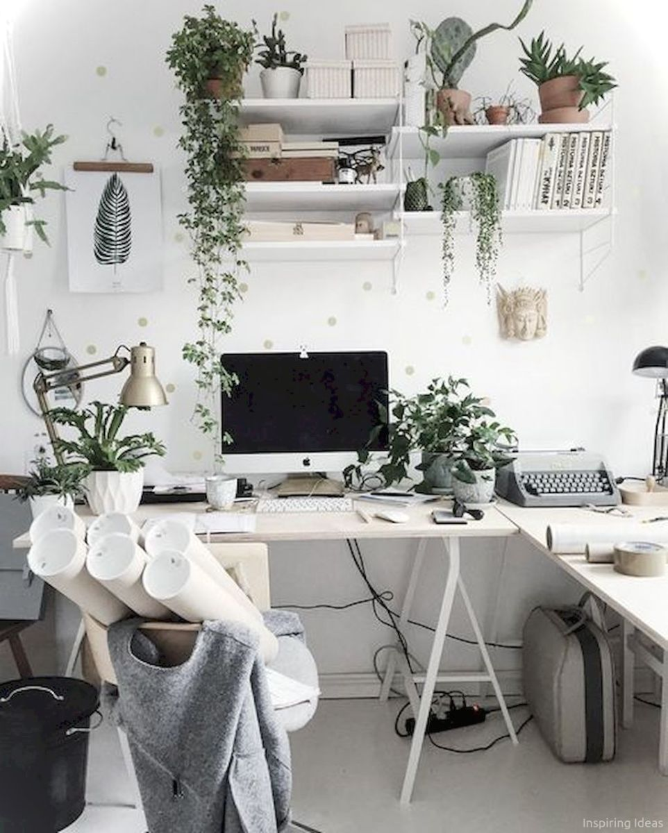 Gorgeous Apartment Decorating Ideas On A Budget 048 Home Office Decor Home Office Design Apartment Decor