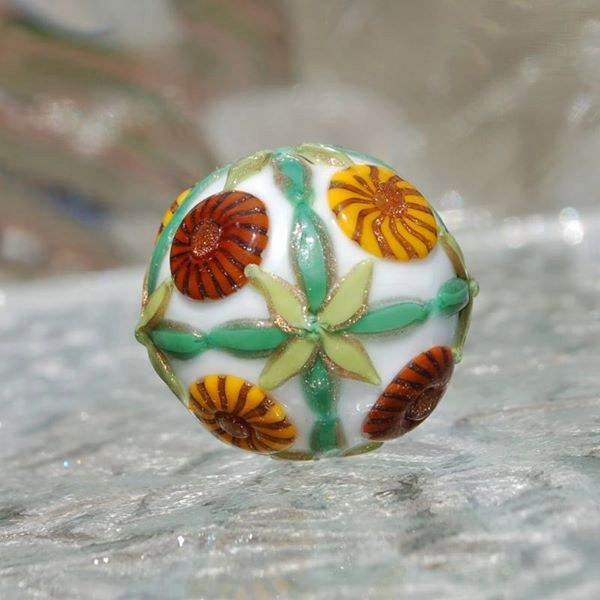 Emiko Sawamoto Bead - DESTASH of koregons artist bead collection by koregon on Etsy