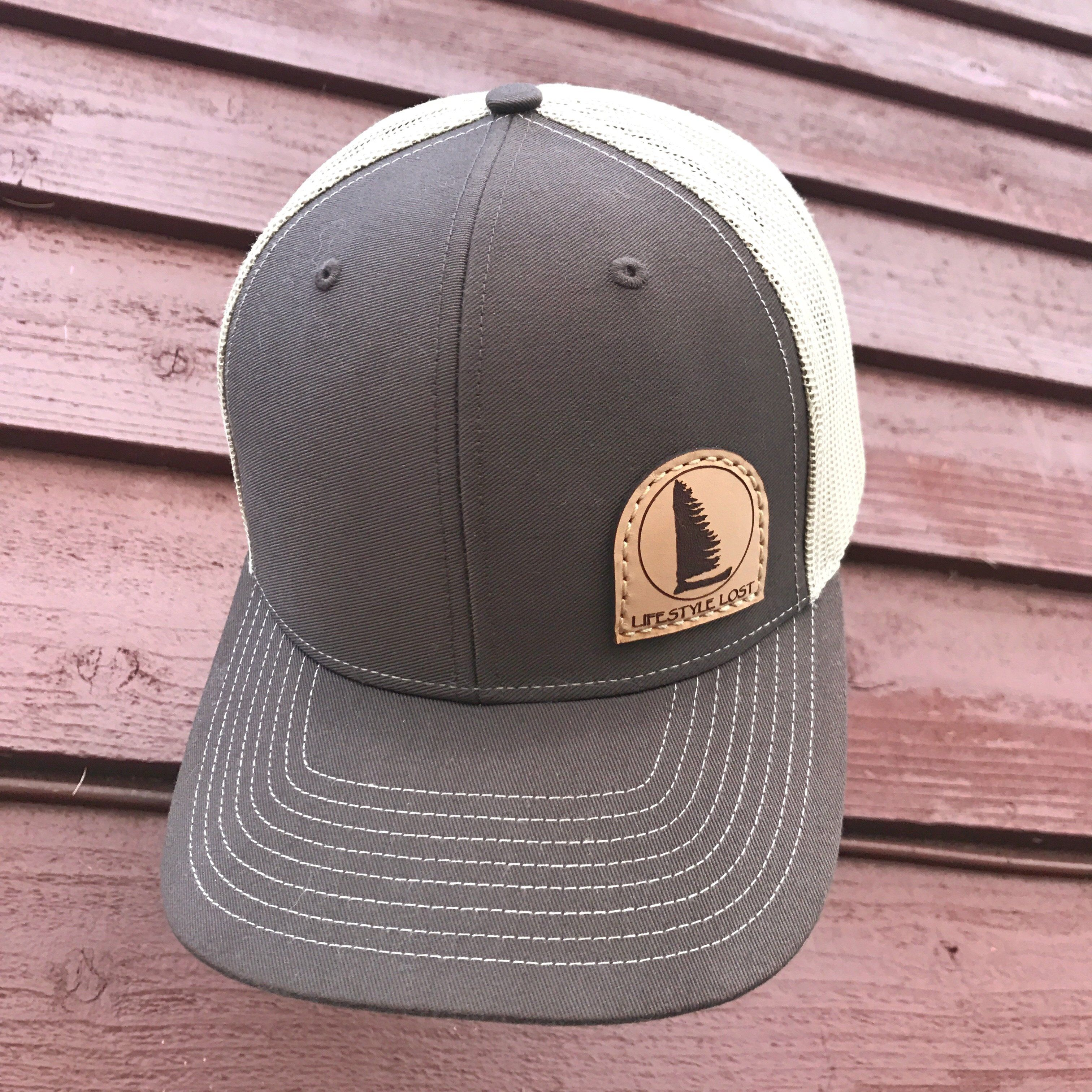 979d3378ccb Hats will be first come first serve as orders come in     Snap back mesh  style hat with genuine leather patch. 100% off profits go back to  conservation!