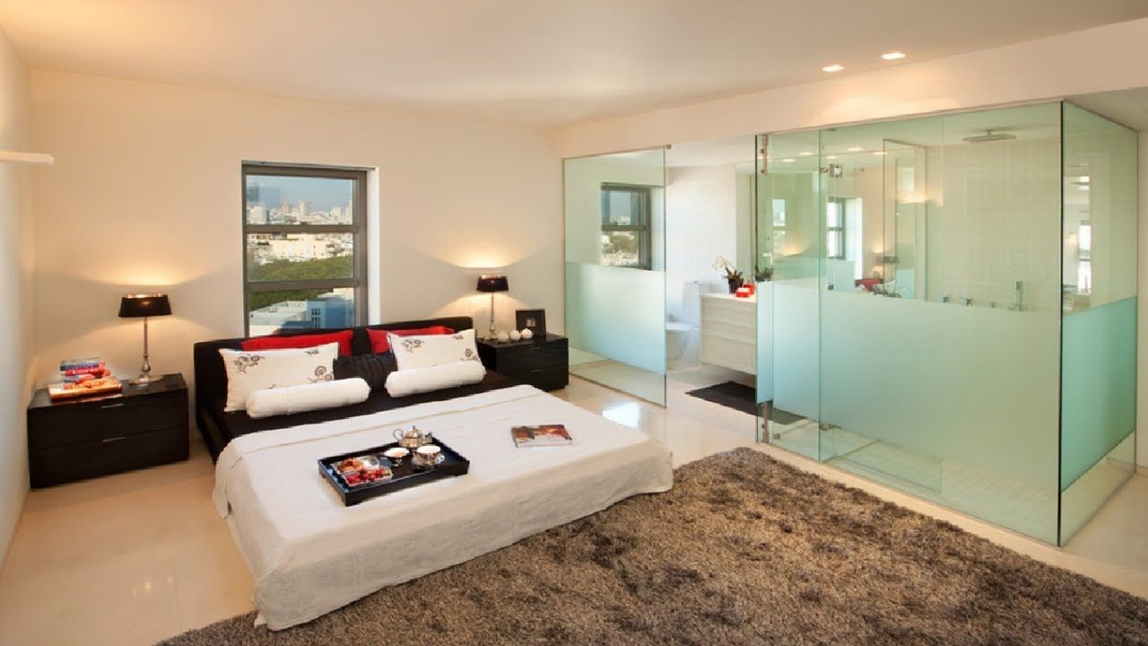30 Amazing Bedrooms Designs With Attached Bathrooms Contemporary Bedroom Design Contemporary Bedroom Bedroom Design