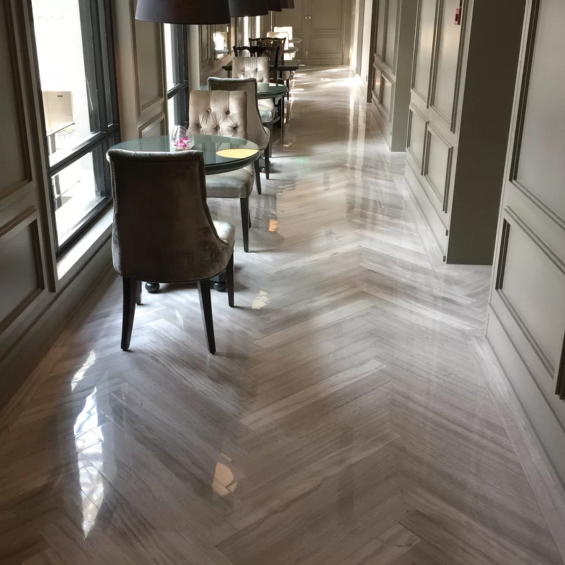 Msi Whiteoak 6 X 24 Marble Wood Look Wall Floor Tile Wayfair In 2020 Wood Look Tile Marble Wood Flooring