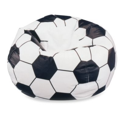 Large Soccer Ball Bean Bag Chair Cover Bedbathandbeyond