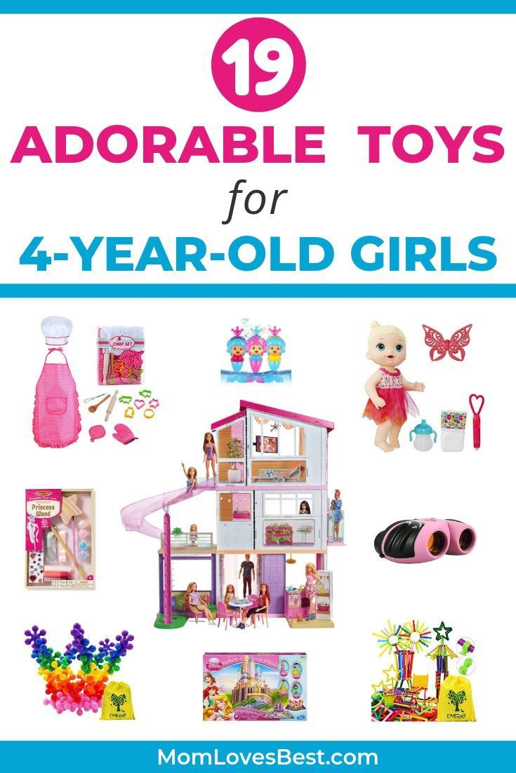 19 Best Toys for 4-Year-Old Girls (2020 Edition) | 4 year ...