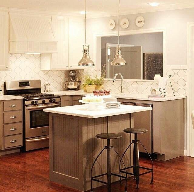 Fixer Upper Kitchen Backsplash: Fixer Upper Love This Kitchen