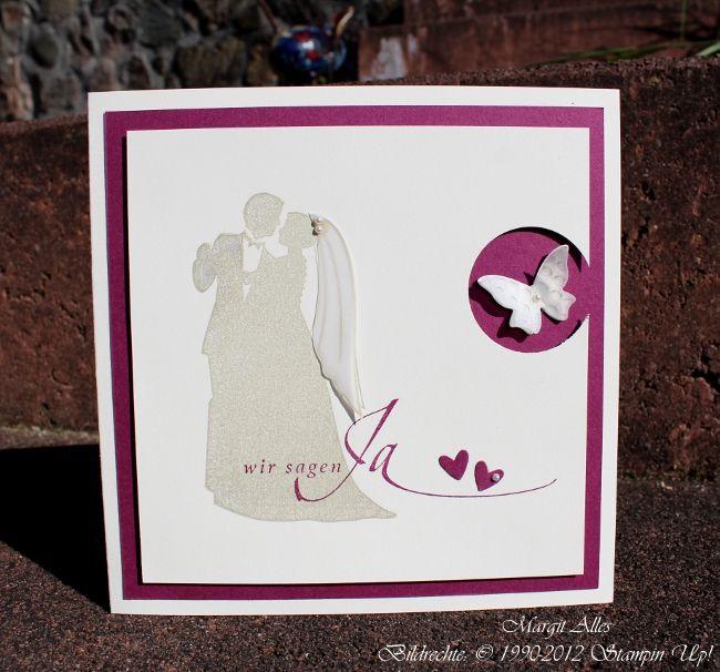 HOCHZEITSEINLADUNGEN MIT DEM STEMPELSET U201eFÜR IMMERu201c | Hochzeitseinladung,  Hochzeitskarten Und Hochzeit Karten