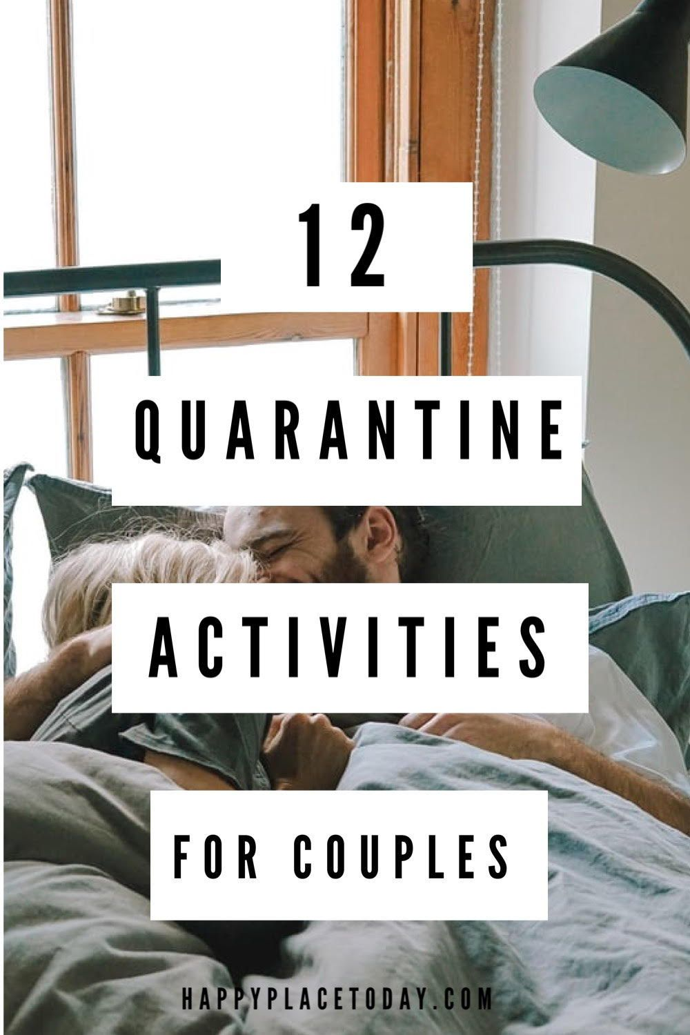 12 Creative social distancing activities for couples