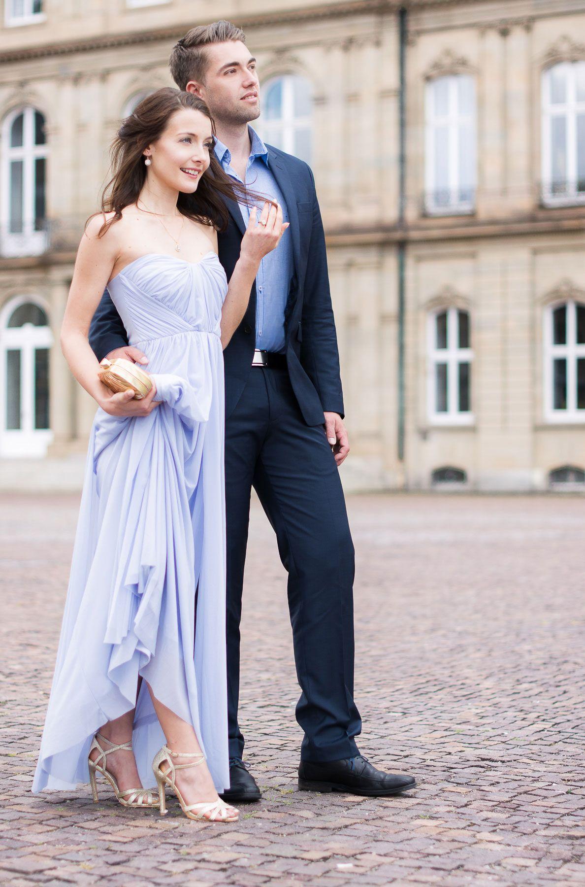 8b77127df39 Wedding guest  amp  graduation outfit ideas. Blue off-shoulder maxi dress  by Asos
