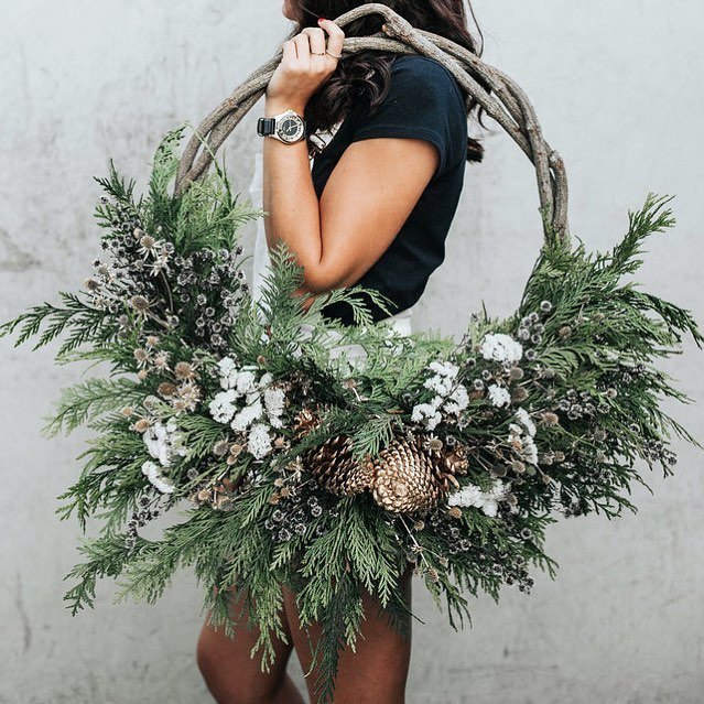 """Clementine Posy on Instagram: """"Ok flower lovers... due to an incredibly high demand, our classic dried wreaths are temporarily sold out. You can still order one, you just…"""""""