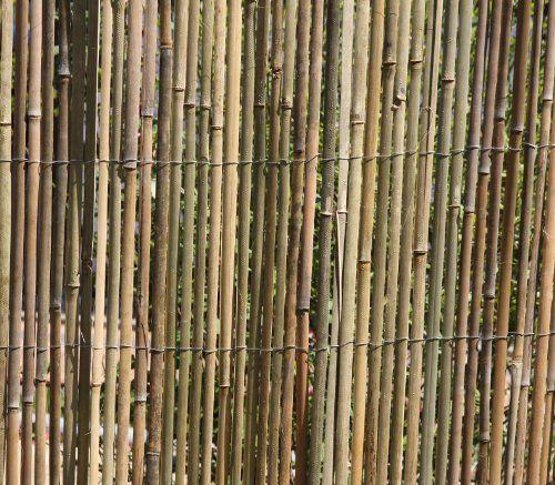5m X 1,5m Bambusmatte Bambus Sichtschutzmatte Zaun  Sichtschutz Matte  Geschnitten