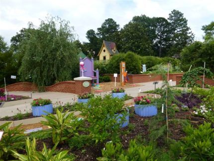 My Big Backyard, the Childrens Garden at Memphis Botanic ...